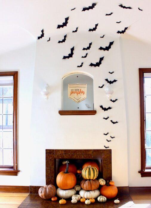 indoor halloween decorations
