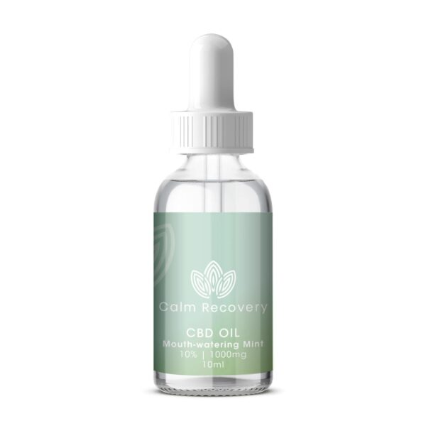 CBD Oil 10ml 10% 1000mg Mouthwatering Mint