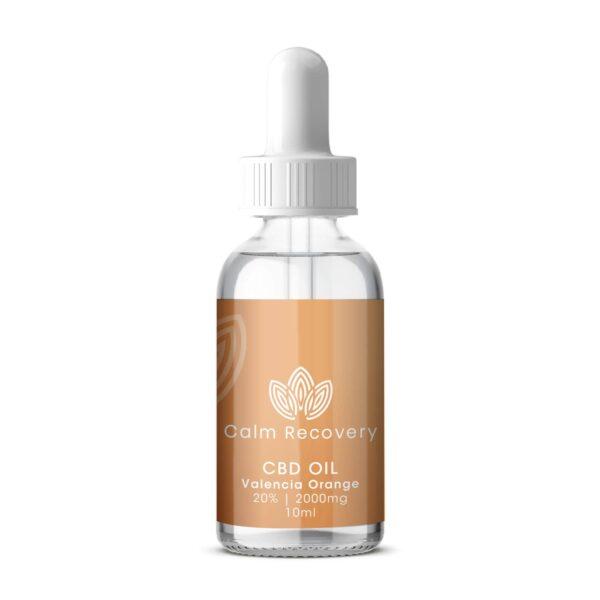 CBD Oil 10ml 20% 2000mg Valencia Orange