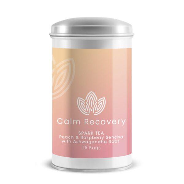 Spark Tea – Peach & Raspberry Sencha with Ashwagandha Root