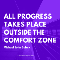Motivation Monday: Move out of the Comfort Zone