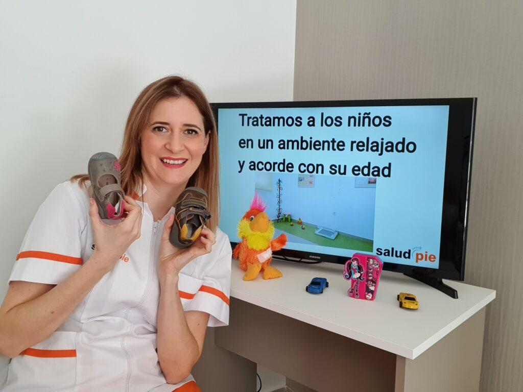 Podologo infantil Murcia
