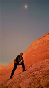 Atacama Çölü Gün Batımında Renkten Renge Giriyor