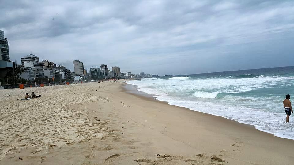 Rio de Janeiro'nun En Ünlü Plajı, Ipenama Plajı