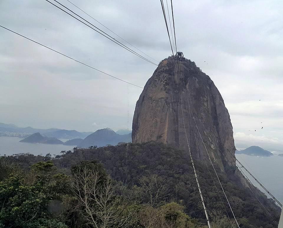 Rio de Janeiro'da Kesme Şeker Dağı