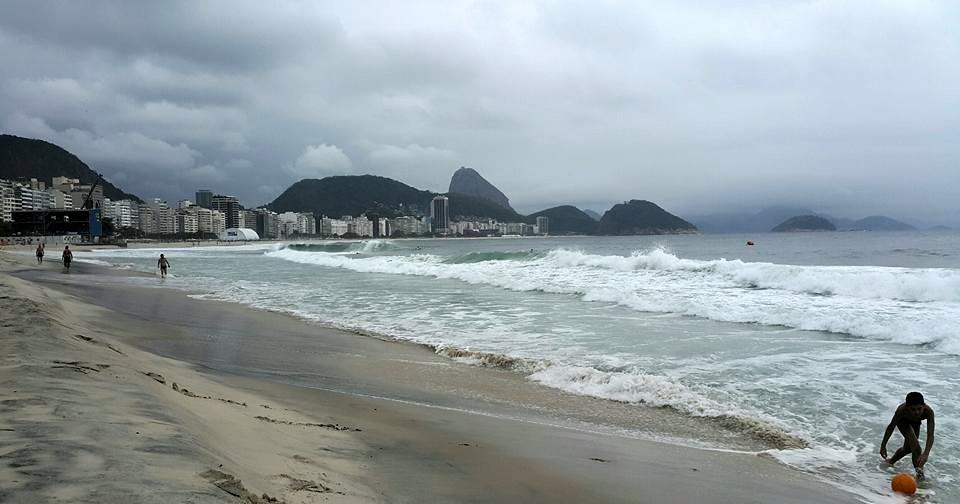 Rio de Janeiro'nun Ünlü Plajlarından, Copacabana Plajı