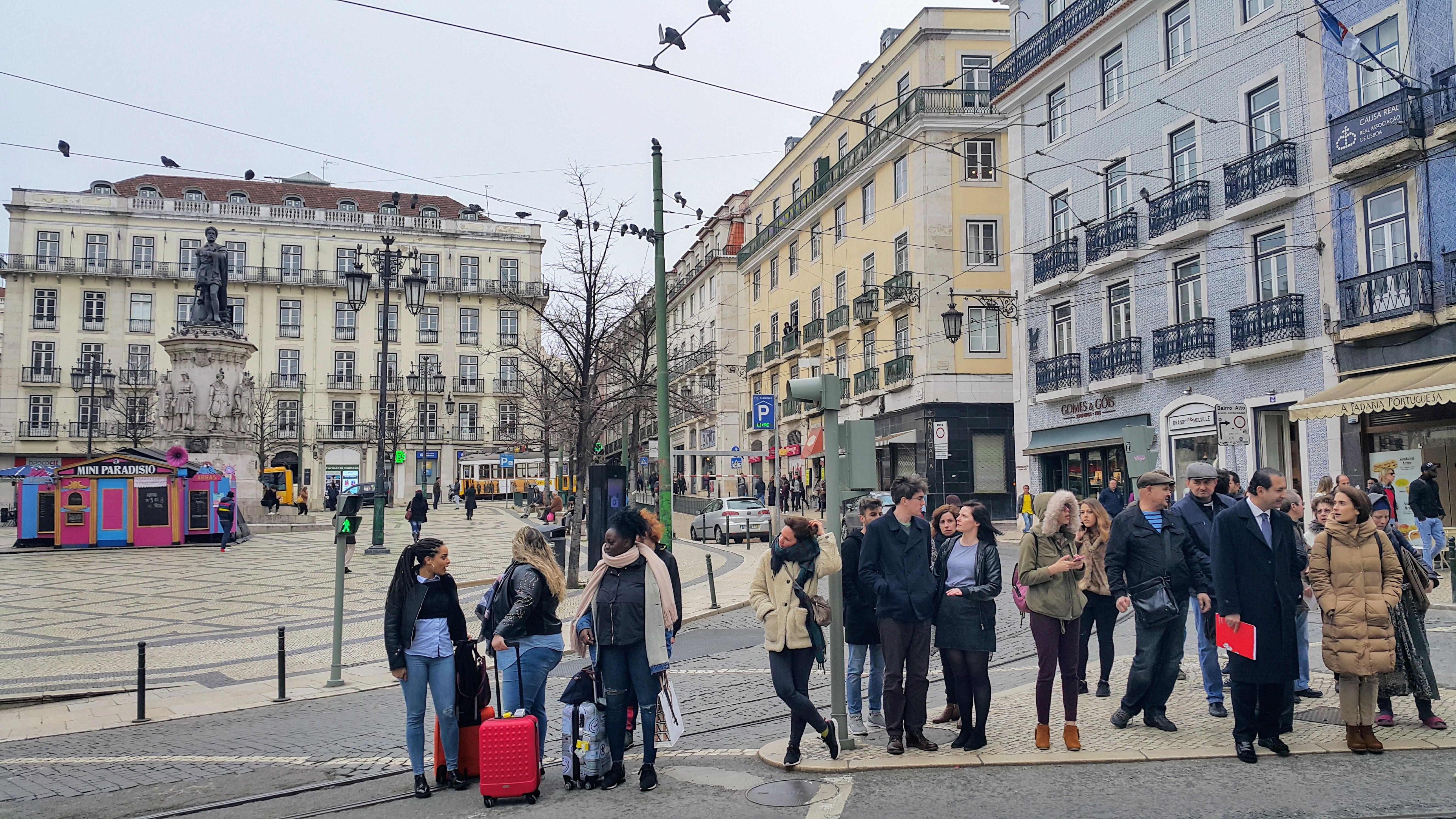 Lizbon'un Ana Merkezi, Rossio Meydanı