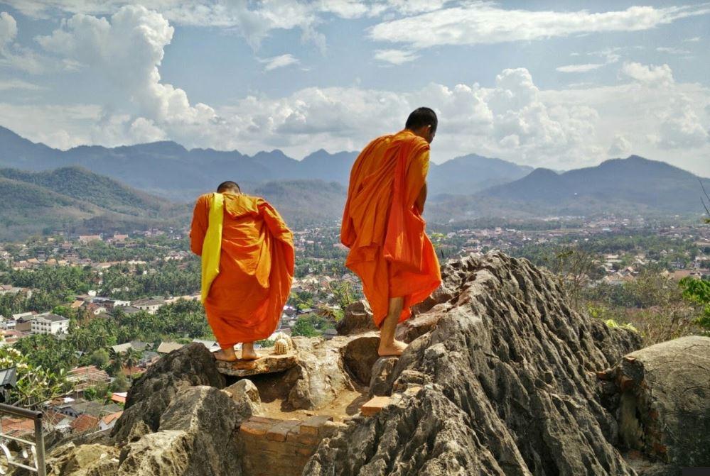 Luang Prabang 'da Gezilecek Yerler Listesinde İlk Sırada, Phu Si Tepesi