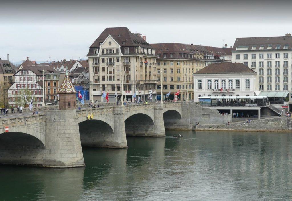 Mittlere Rheinbrücke'den (Orta Köprü)