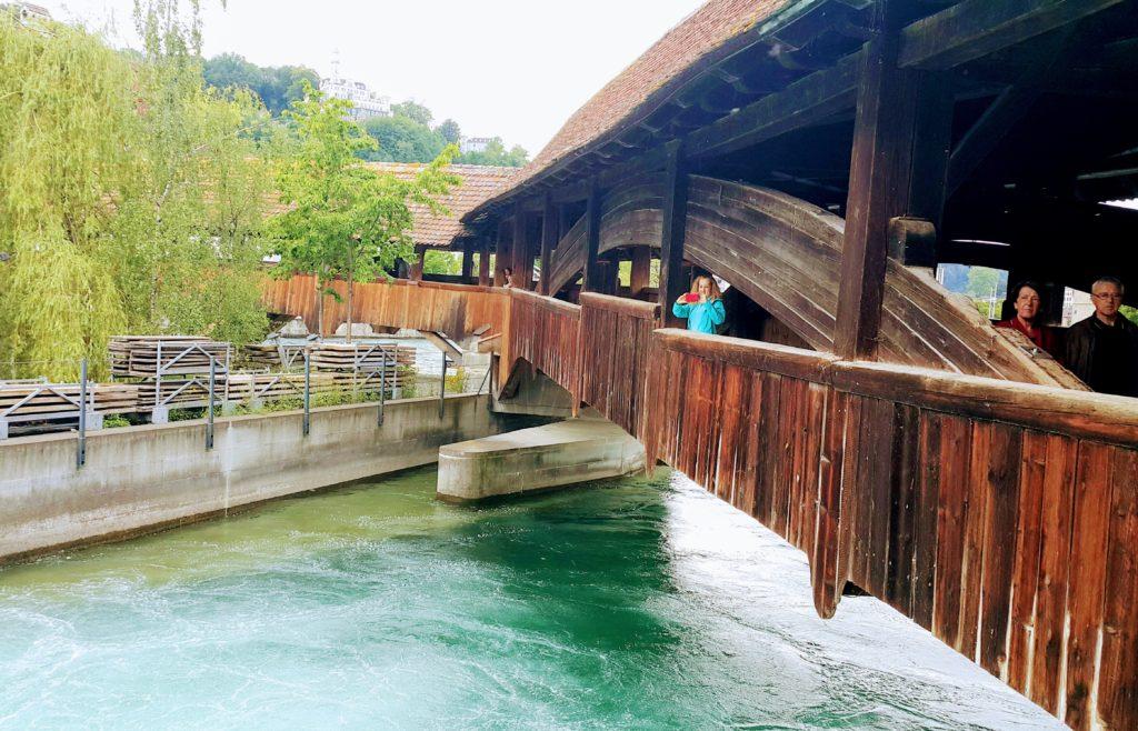 Spreuerbrücke (Değirmen Köprüsü)