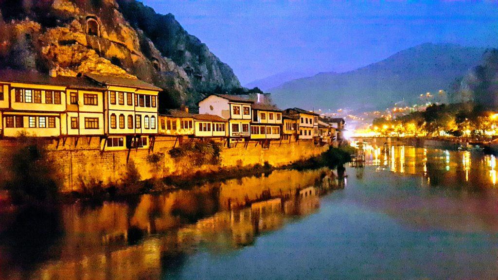Şehzadeler Şehri Amasya 'dan sabah saatlerinden bir görüntü