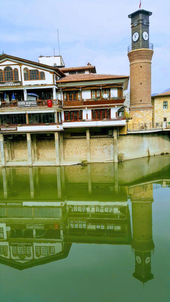Amasya 'da Gezilecek Yerler; Saat Kulesi