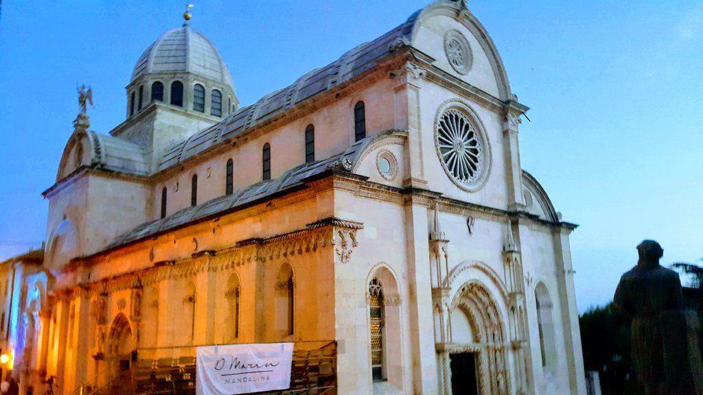 Old Town Sibenik 'te Yer Alan UNESCO Dünya Mirası Listesindeki, Aziz Yakup Katedrali
