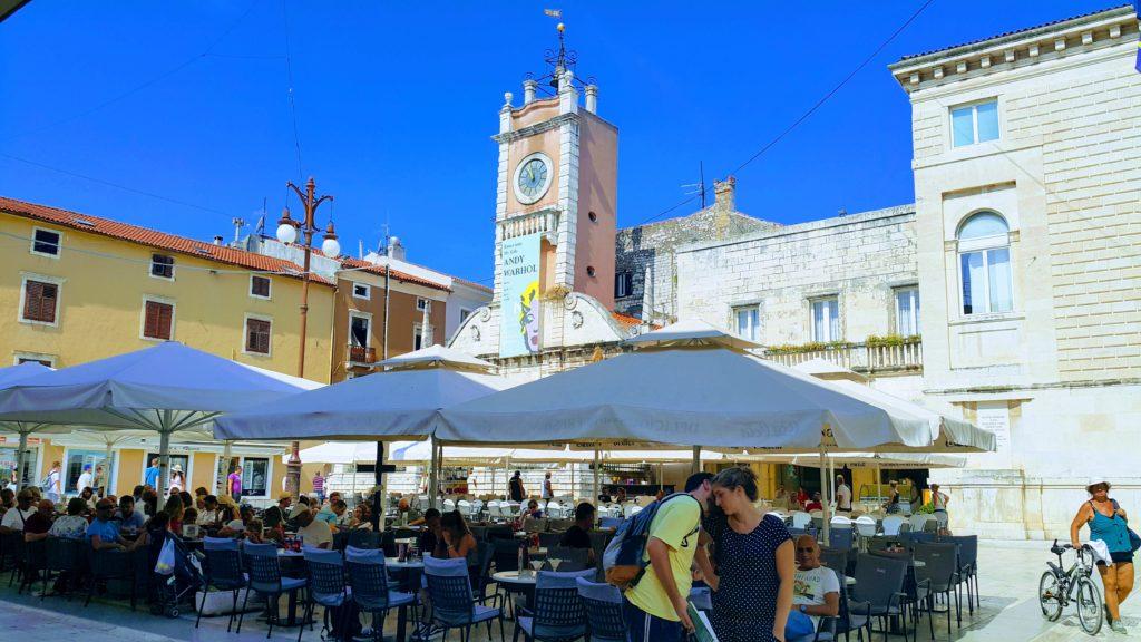 Old Town Zadar 'da Yer Alan, Narodini Trg Meydanı