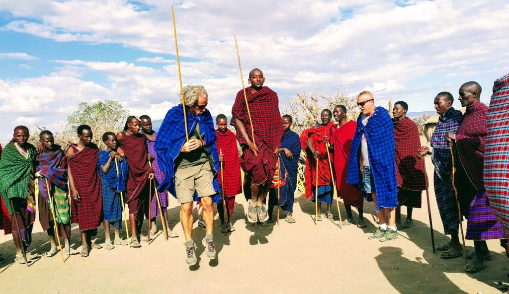 Masailer'in Zıplamalı Yerel Dansları