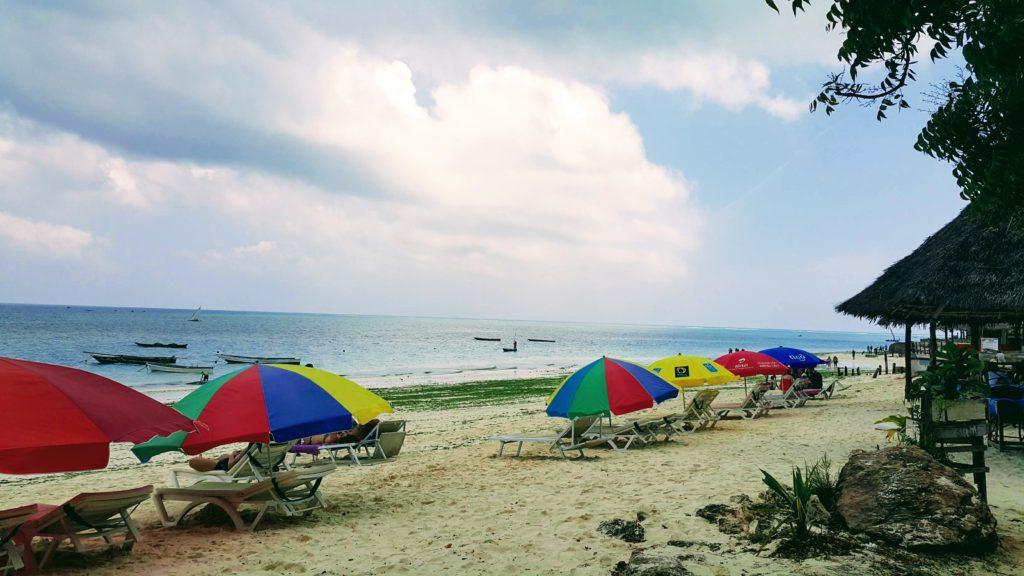 Kaldığımız Otelin Sahili