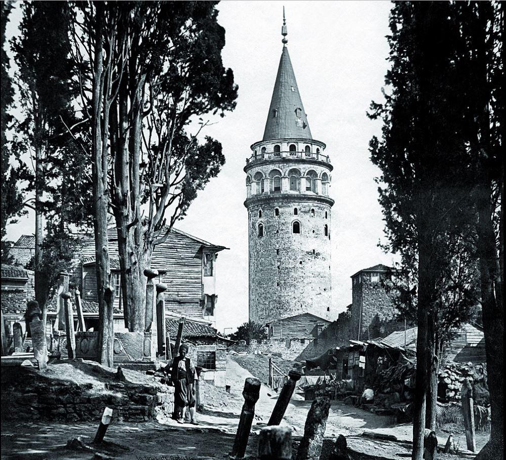 Eski Tarihlerde Galata Kulesi