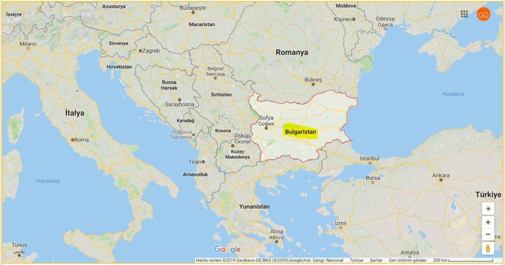 Bulgaristan ve Komşuları