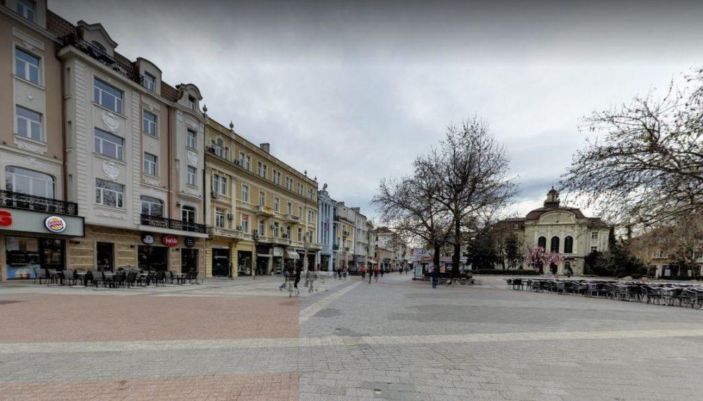 Flibe'nin Trafiğe Kapalı Ana Caddesi