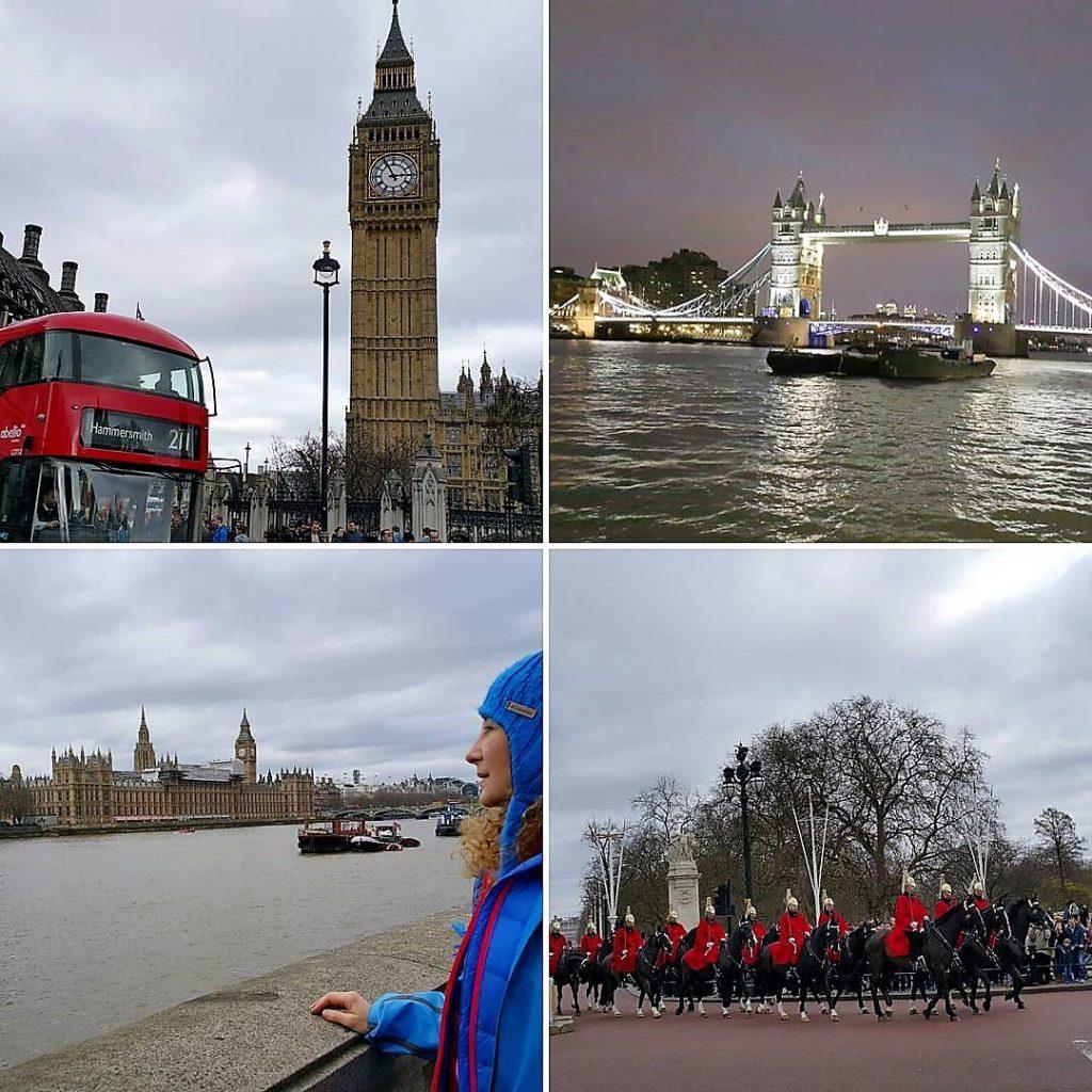 Londra'dan Değişik Görüntüler
