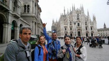 İtalya'nın en büyük 2. Kilisesi olan Milano Duomo'su