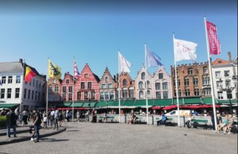 Brugge Markt Meydanı