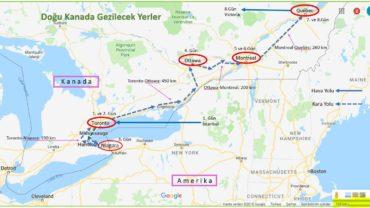 Doğu Kanada Gezilecek Yerler