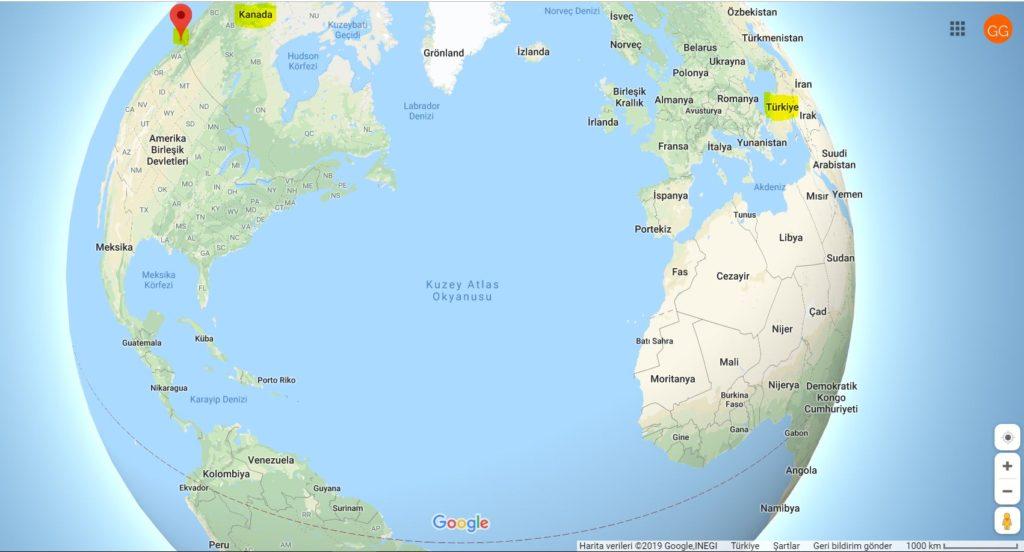 Victoria'nın Dünya Haritası'ndaki Yeri