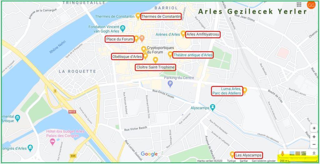 Arles Gezilecek Yerler