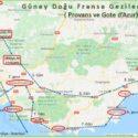 Fransa Gezi Programı, Güney Doğu Bölümü