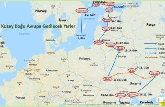 Baltık Ülkeleri Gezi Programı