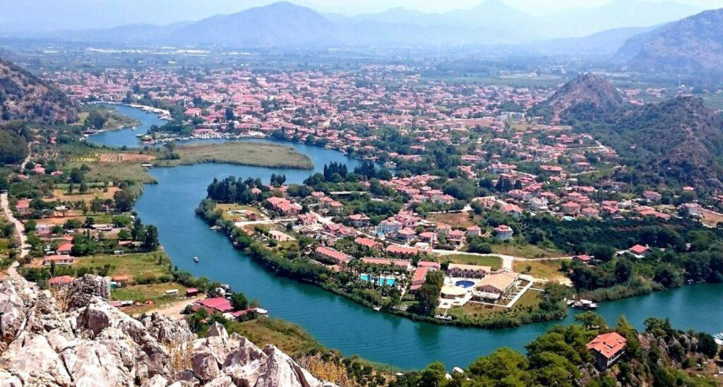 Dalyan Boğazı / Kanalı