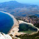İztuzu View Point'ten Dalayan Deltası ve İztuzu Plajı'nın Görünümü