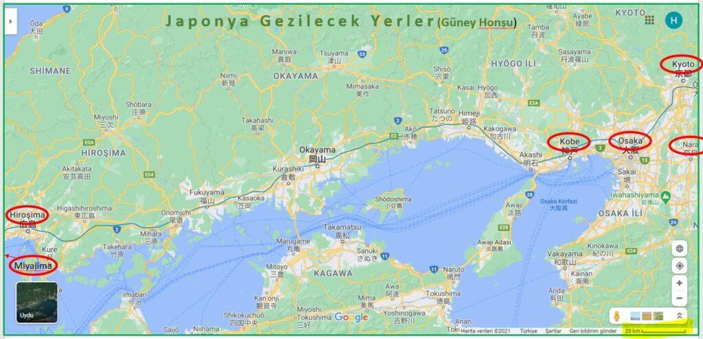 Japonya Gezi Programı Kapsamında Japonya Gezilecek Yerler