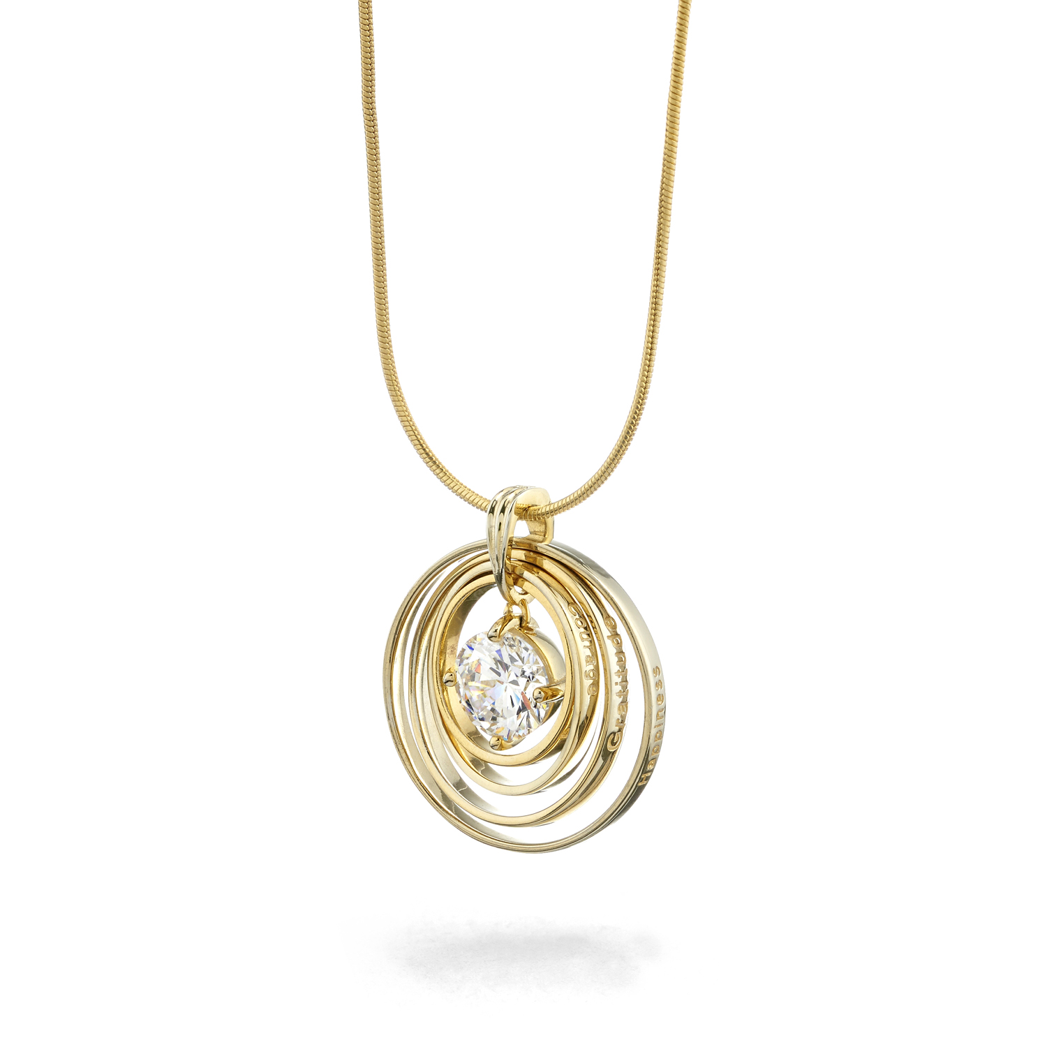 Gold Plated Synergy Necklace