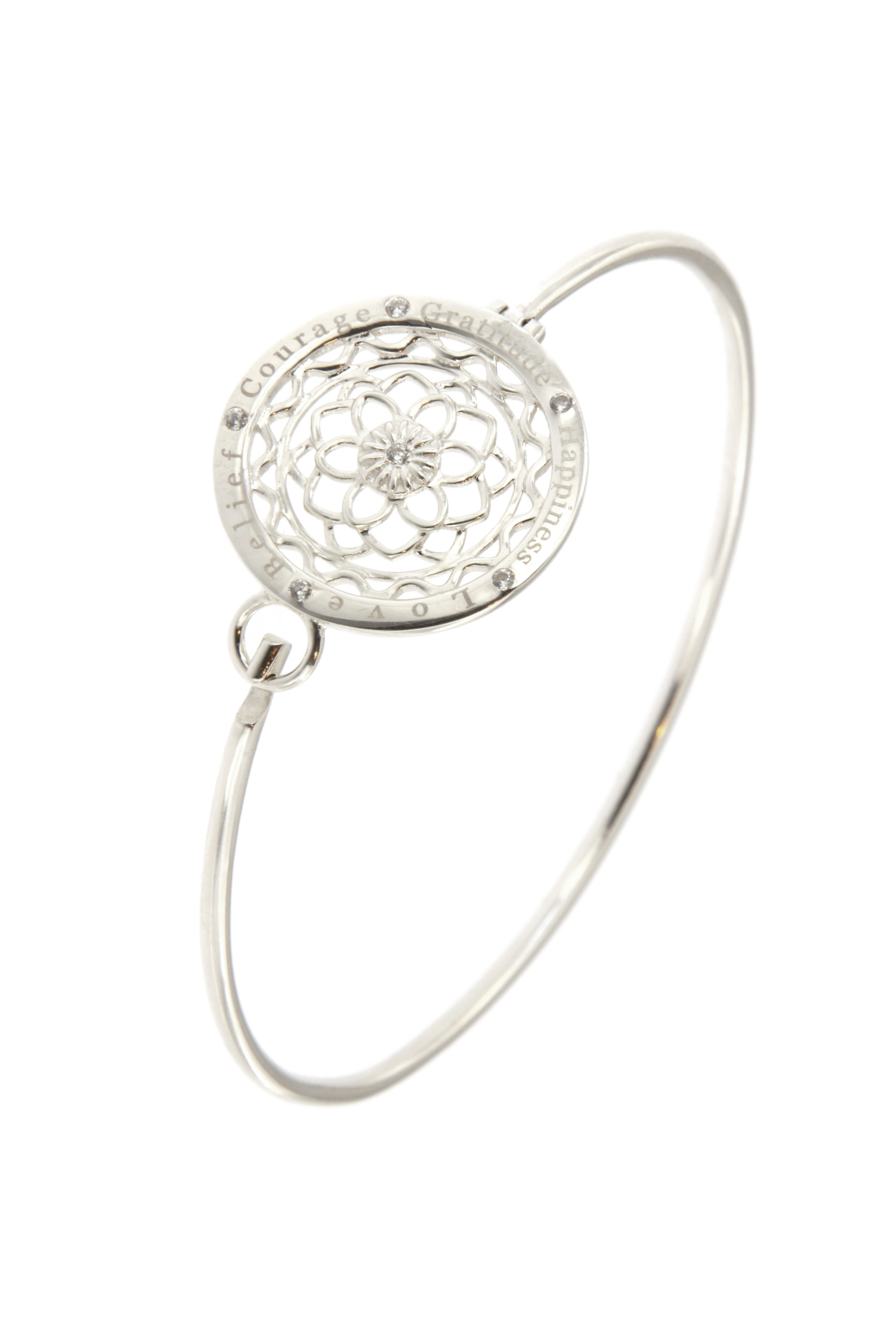 925 Sterling Silver Synergy Bangle