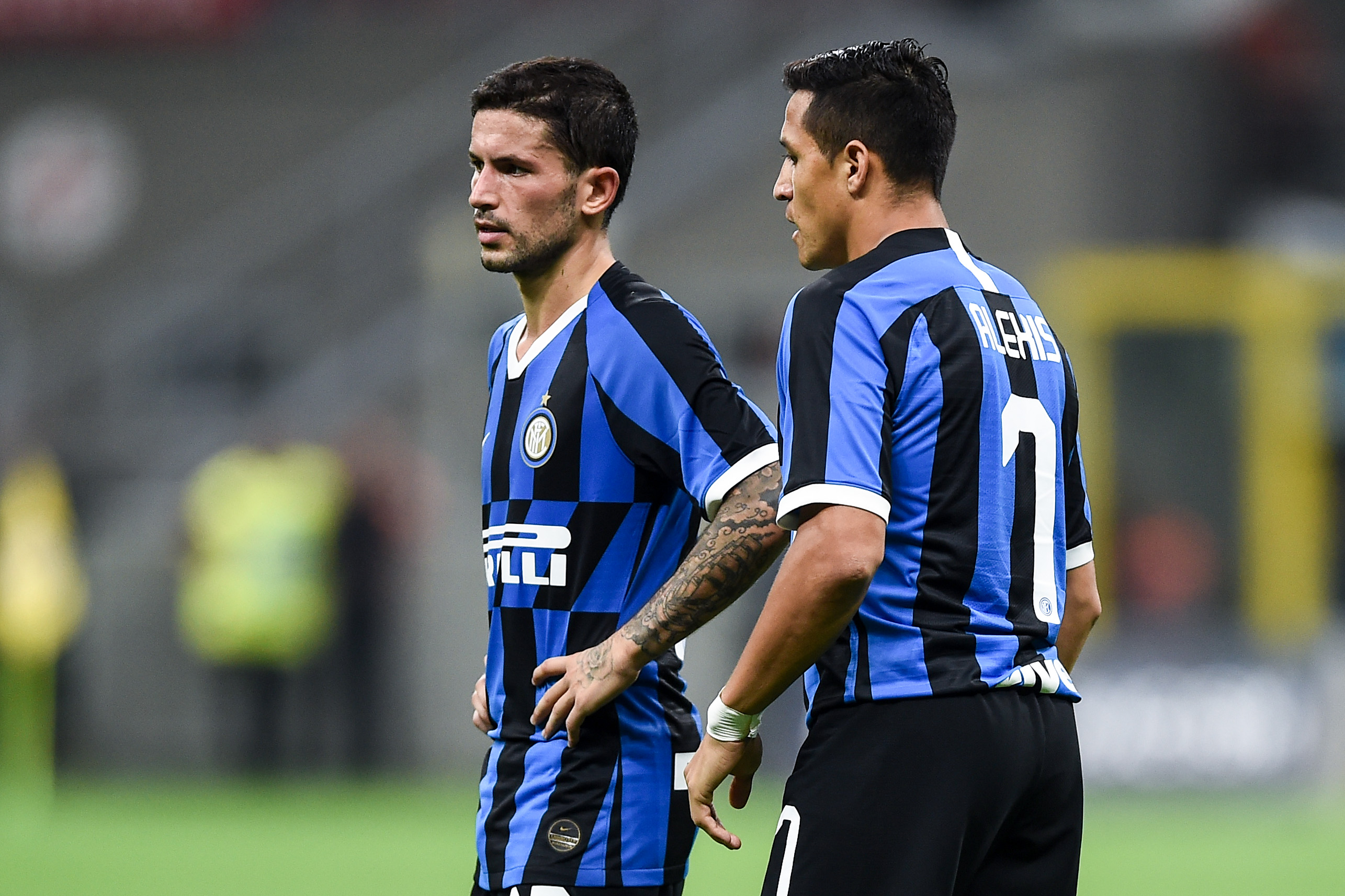 Sensi e Sanchez, Inter