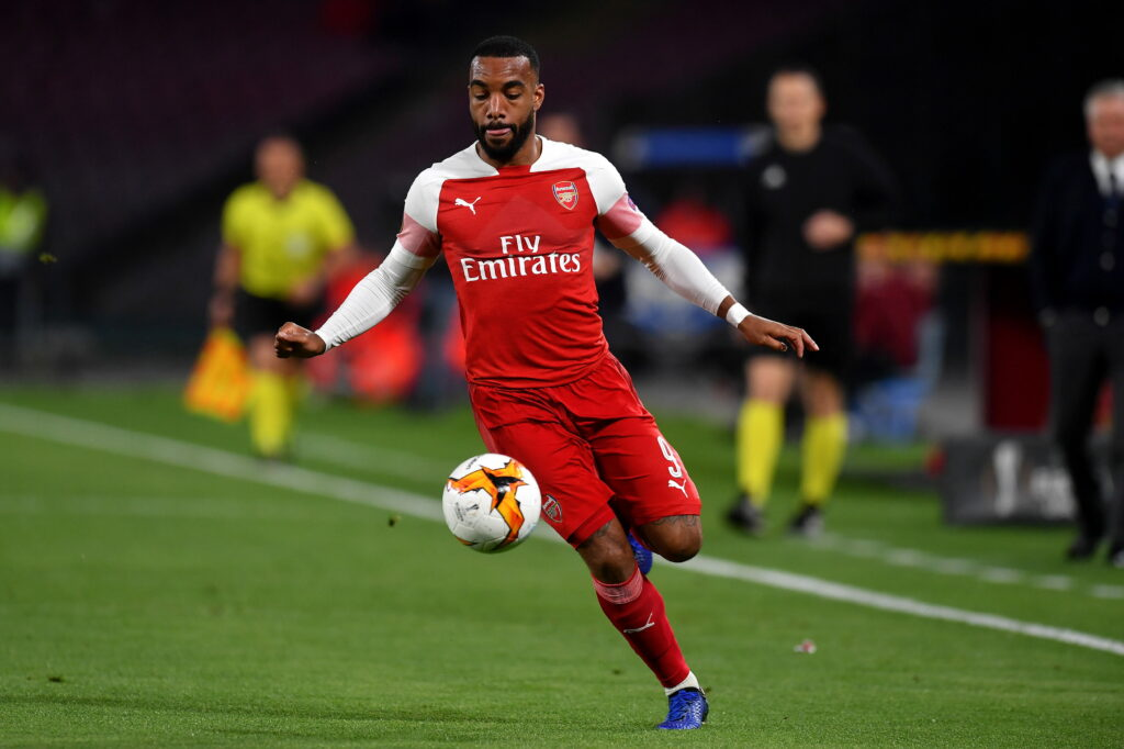 Lacazette, attaccante Arsenal