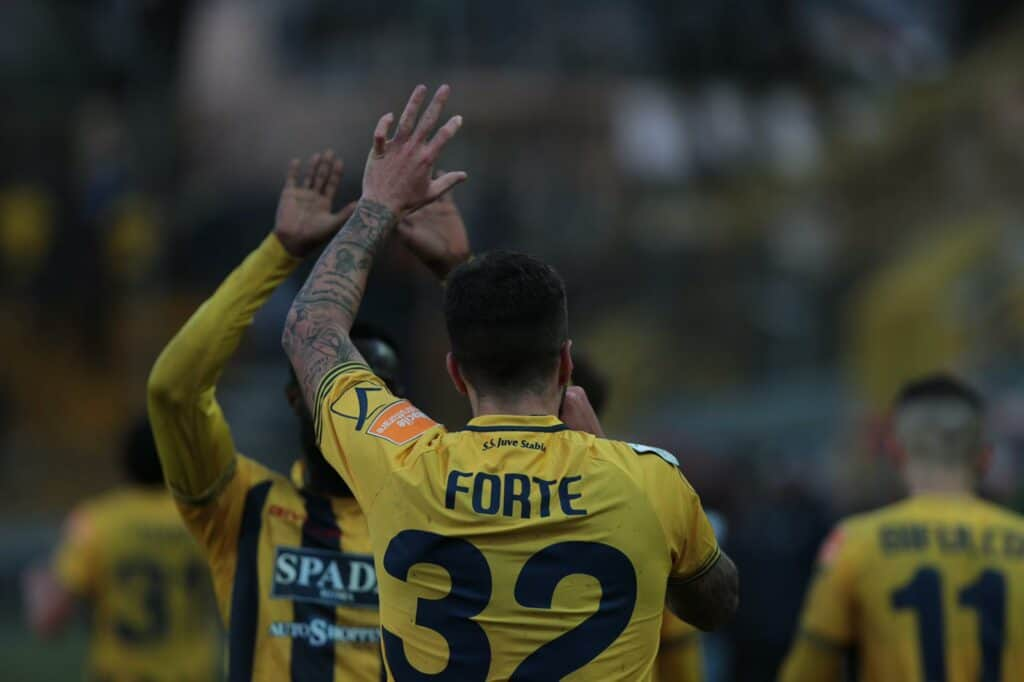 Forte, attaccante Juve Stabia