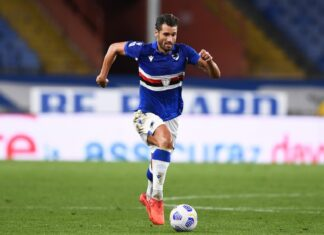 Candreva, Sampdoria