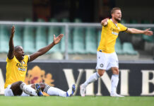 Stefano Okaka, attaccante Udinese