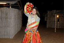 Costumes in desert Safari