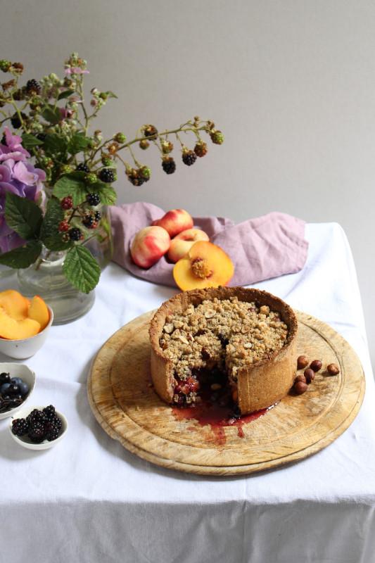 black and blue nectarine pie-1-42