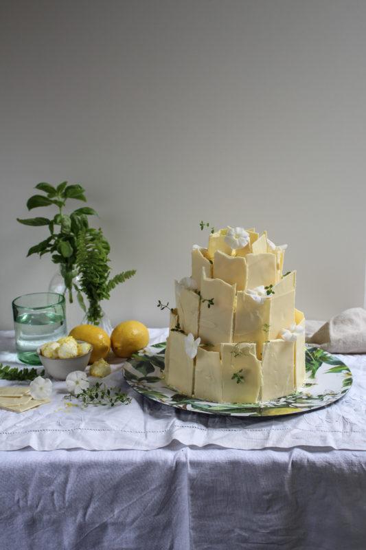 lemon poppy seed chocolate shard cake-1-7