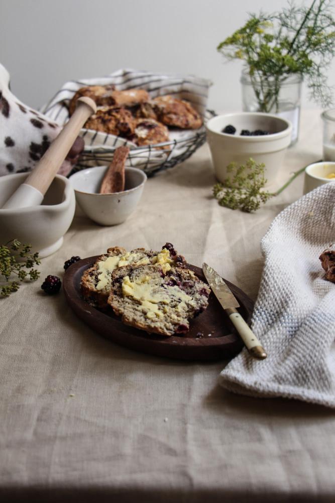 blackberry ginger scones with fennel sugar-1-26