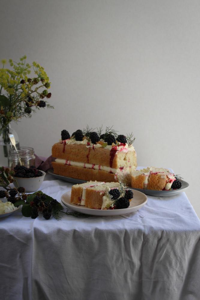 wild blackberry and fennel cake-1-9