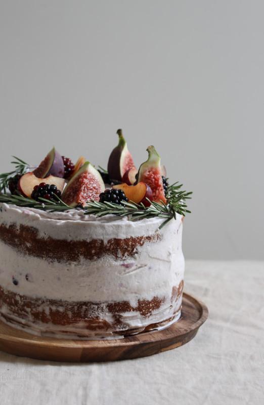 black tea poached plum and fig cake-1-4