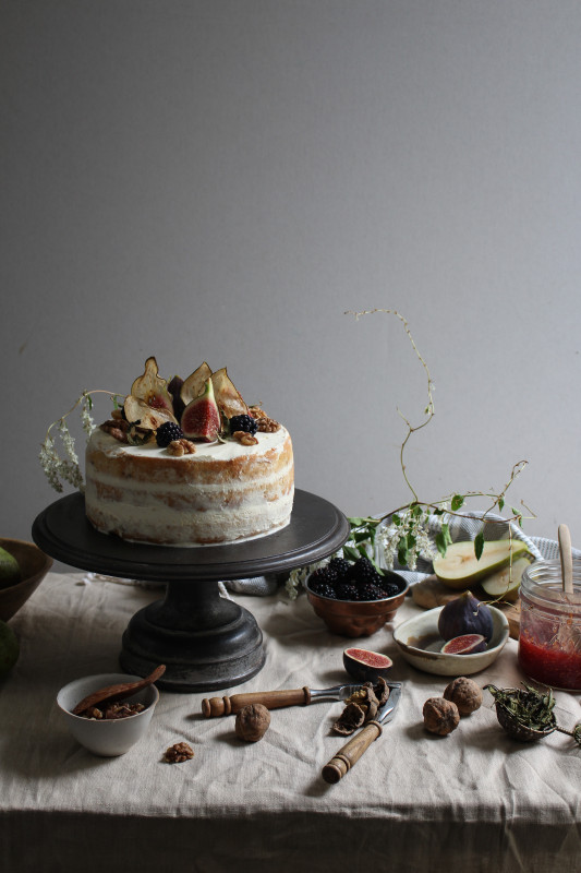 blackberry pear and walnut cake with fig verbina jam-1-20