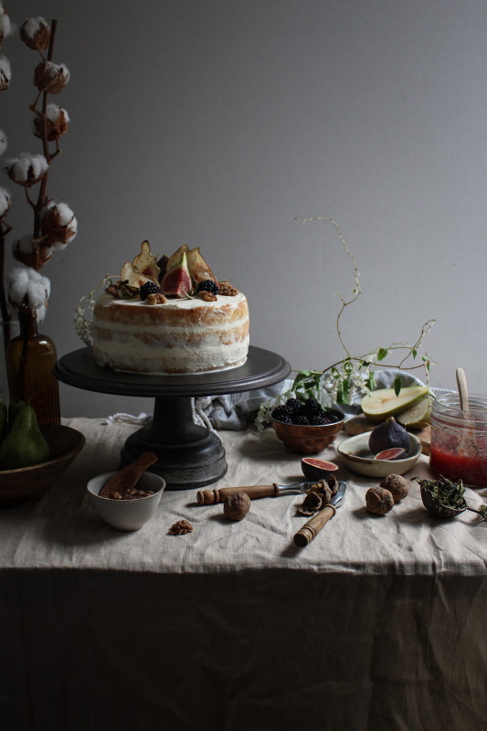 blackberry pear and walnut cake with fig verbina jam-1-31