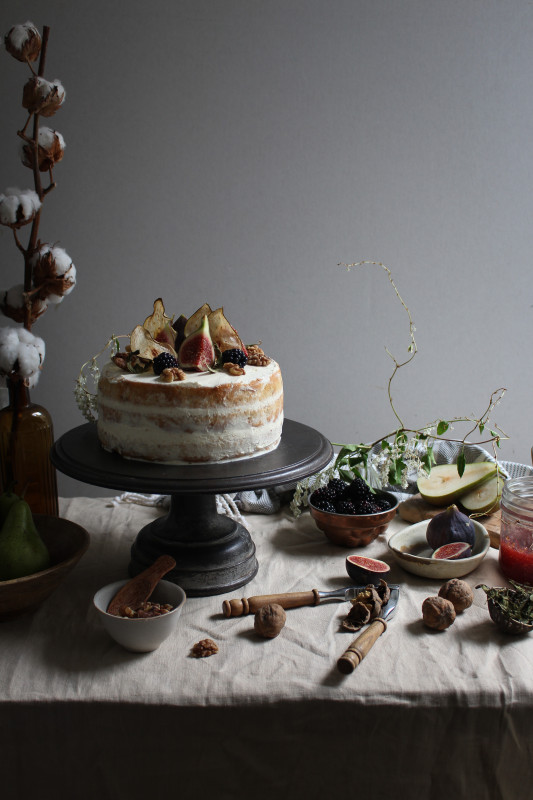 blackberry pear and walnut cake with fig verbina jam-1-32
